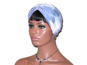 Handmade Blue Turban, Banded Single Knot, Tie Dye - Couture Service  - 2