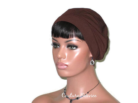 Handmade Brown Cap Turban - Couture Service  - 1