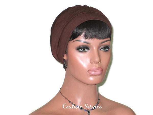 Handmade Brown Cap Turban - Couture Service  - 3