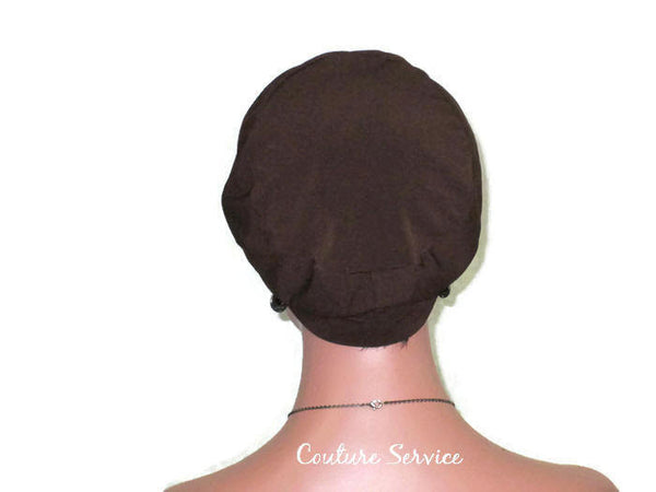 Handmade Brown Cap Turban - Couture Service  - 4