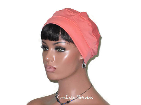 Handmade Coral Cap Turban - Couture Service  - 1