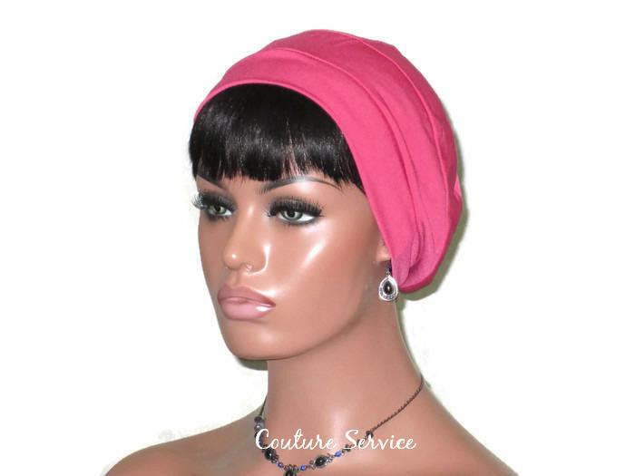 Handmade Pink Cap Turban - Couture Service  - 1
