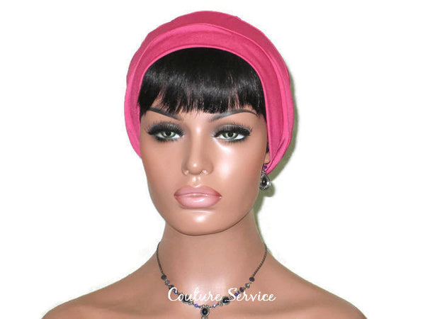 Handmade Pink Cap Turban - Couture Service  - 2