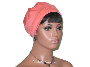Handmade Coral Cap Turban - Couture Service  - 3