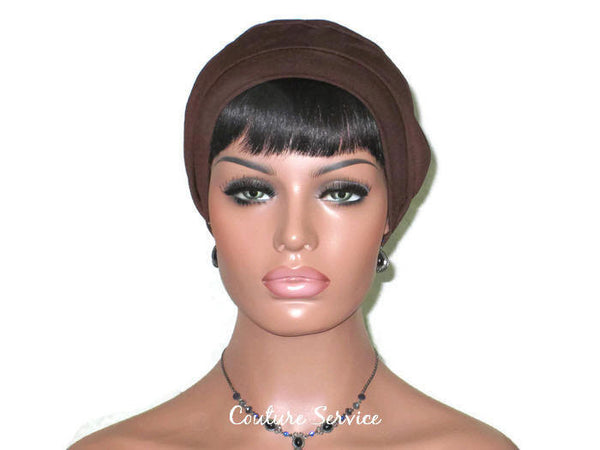 Handmade Brown Cap Turban - Couture Service  - 2