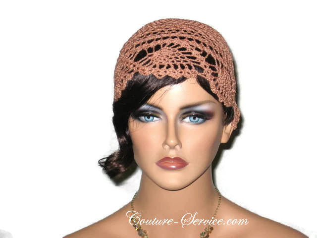 Handmade Copper Pineapple Lace Cloche - Couture Service  - 1