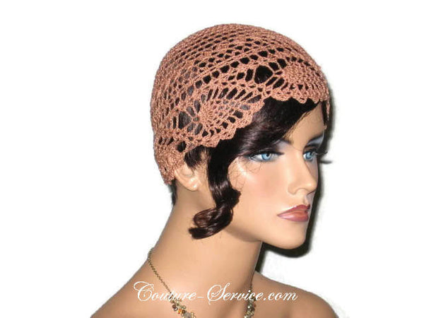 Handmade Copper Pineapple Lace Cloche - Couture Service  - 4