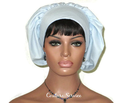 Handmade Snood Hat, Light Blue - Couture Service  - 1