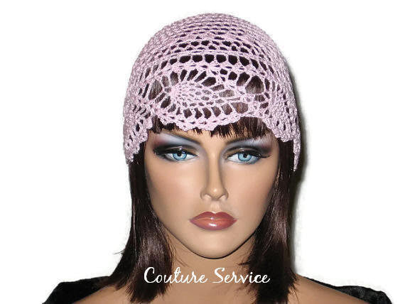 Handmade Pink Pineapple Lace Cloche - Couture Service  - 2