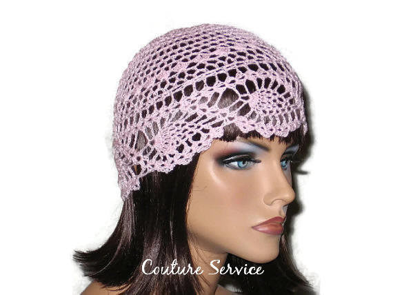 Handmade Pink Pineapple Lace Cloche - Couture Service  - 3
