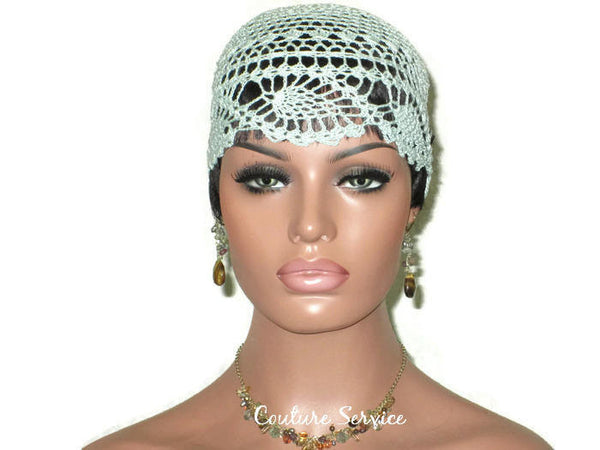 Handmade Green Mint Pineapple Lace Cloche - Couture Service  - 2