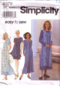Simplicity 8379, Misses Dress, Flared Dress, Overdress, Size 12, 14, 16 - Couture Service  - 1