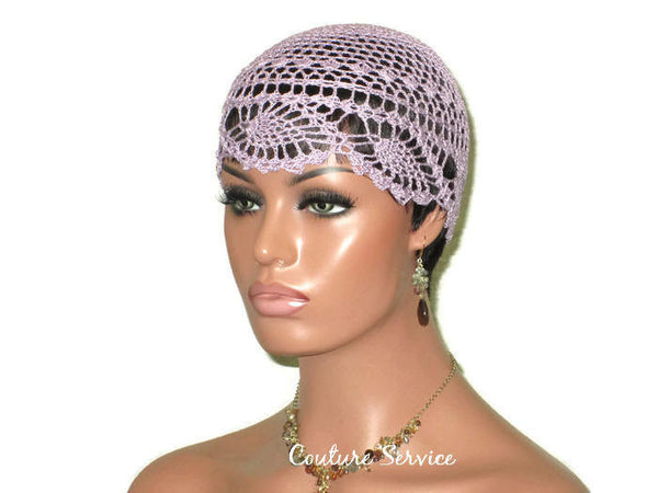 Handmade Purple Pineapple Lace Cloche, Orchid - Couture Service  - 1