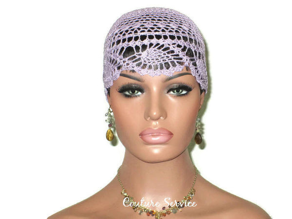 Handmade Purple Pineapple Lace Cloche, Orchid - Couture Service  - 2