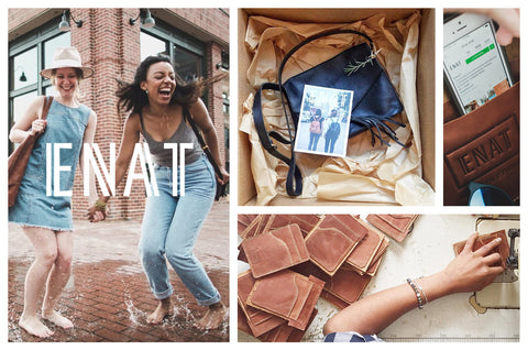Ethical Fashion Brand ENAT Branding Thinkory