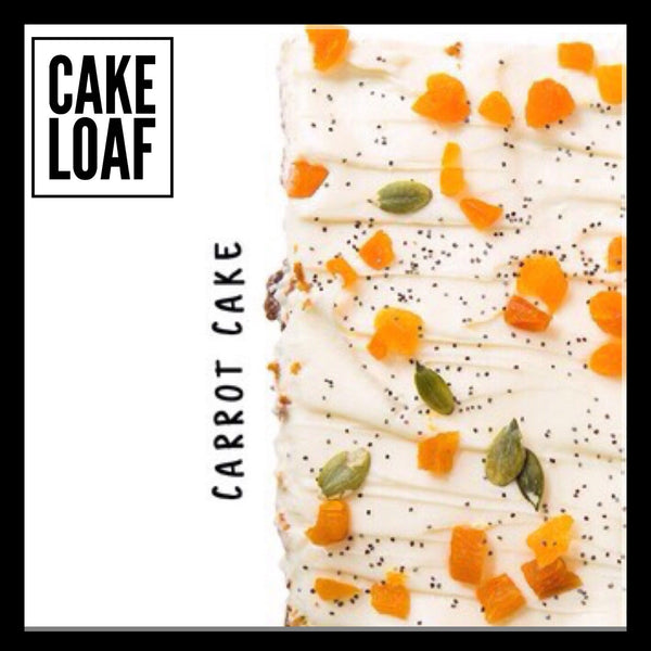 Loaf Cake (Lemon Basil/Carrot Cake)