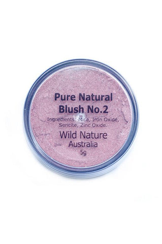 Wild Nature Blush No 2 Sheer Pink  (5g)