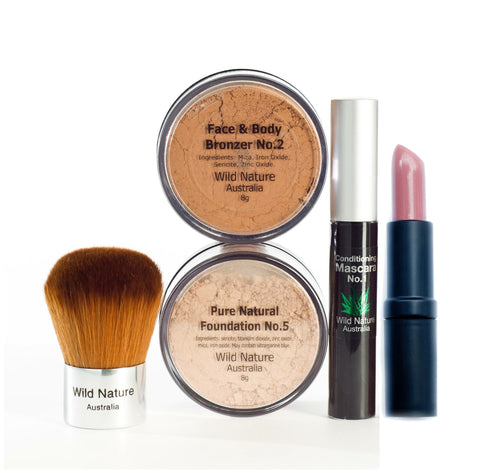 Wild Nature Essentials with Bronzer & Lipstick