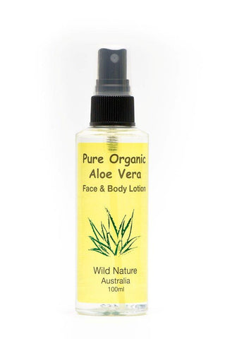 Wild Nature Face & Body Organic Aloe Vera Lotion