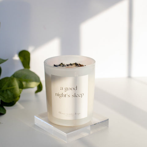 A Good Night's Sleep Handmade Candle