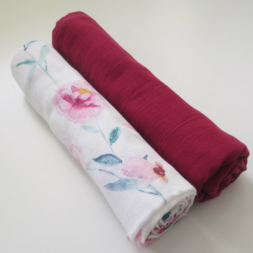 Ruby & Wanderlust (2 Pack) muslin Wraps