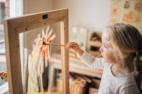 Toddler Perspex Easel