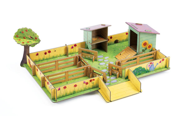 Djeco Marie's Farm pop up play
