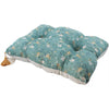 Green Branches Muslin Pillow