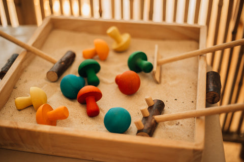 Sand Tray & Play Set