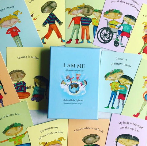 'I Am Me' Affirmation Cards