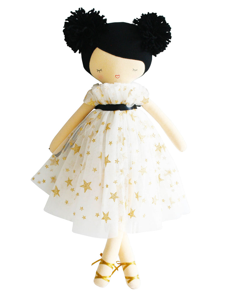 Iris Pom Pom Doll - Gold Star