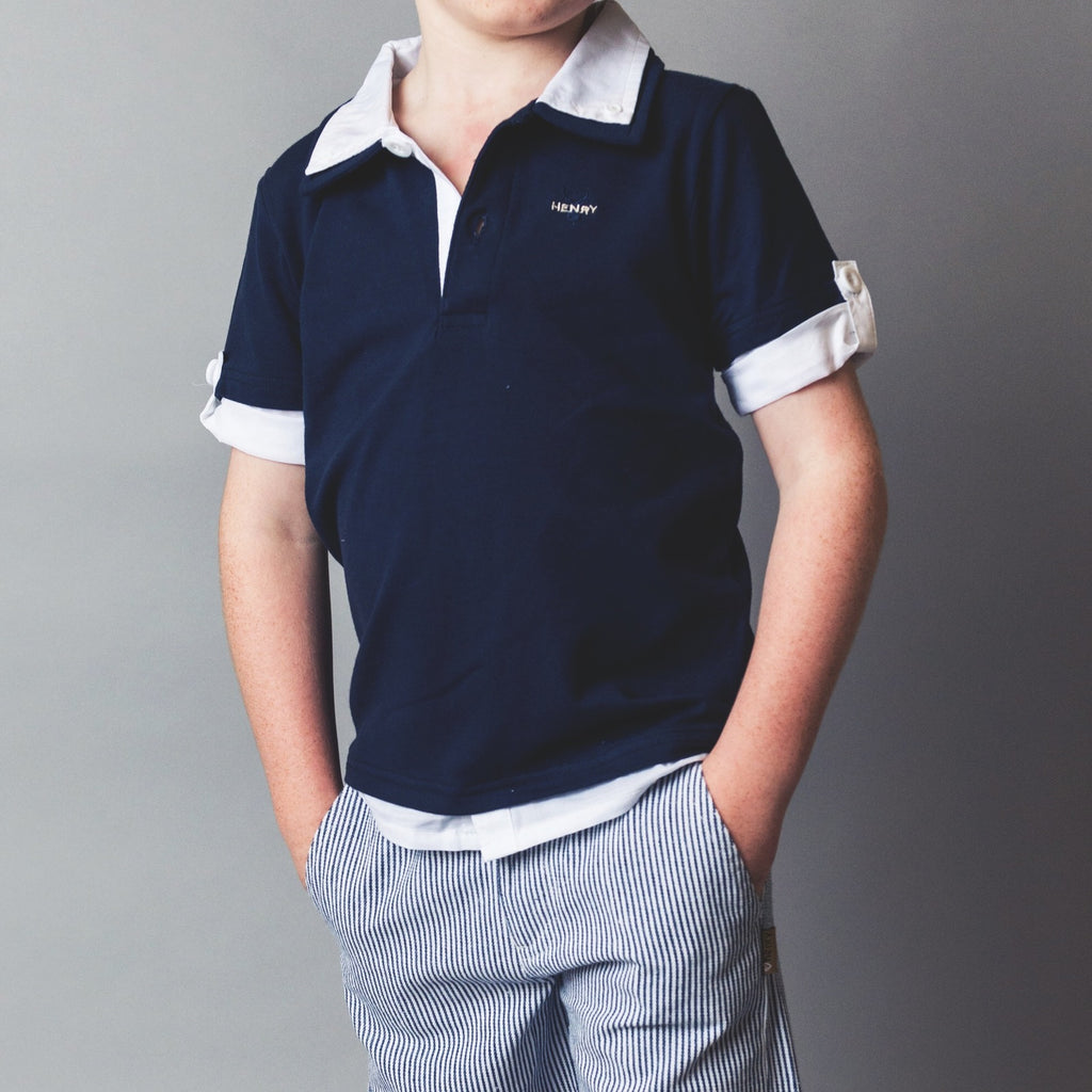 Hamptons Polo - Blue