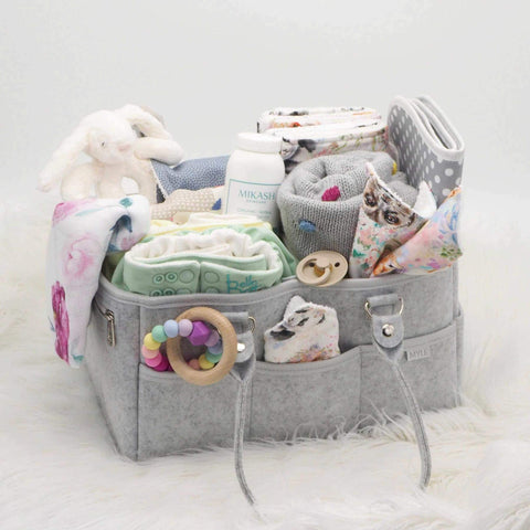 Baby/Nursery Organiser Caddy with Change Mat