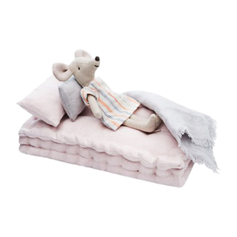 Linen Dolls Bed - Dusty Pink