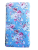 Couture Blue Blowsy Bloom Fitted Cot Sheet