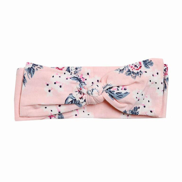 Gracey Floral Headband - Pink