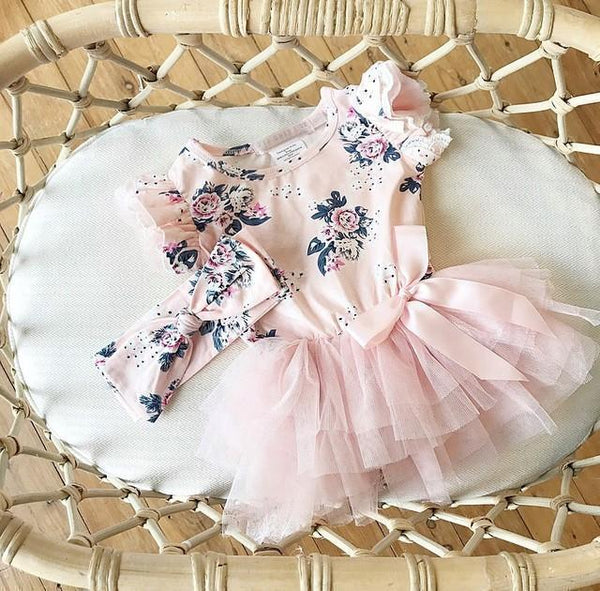 Gracey Romper - Pink