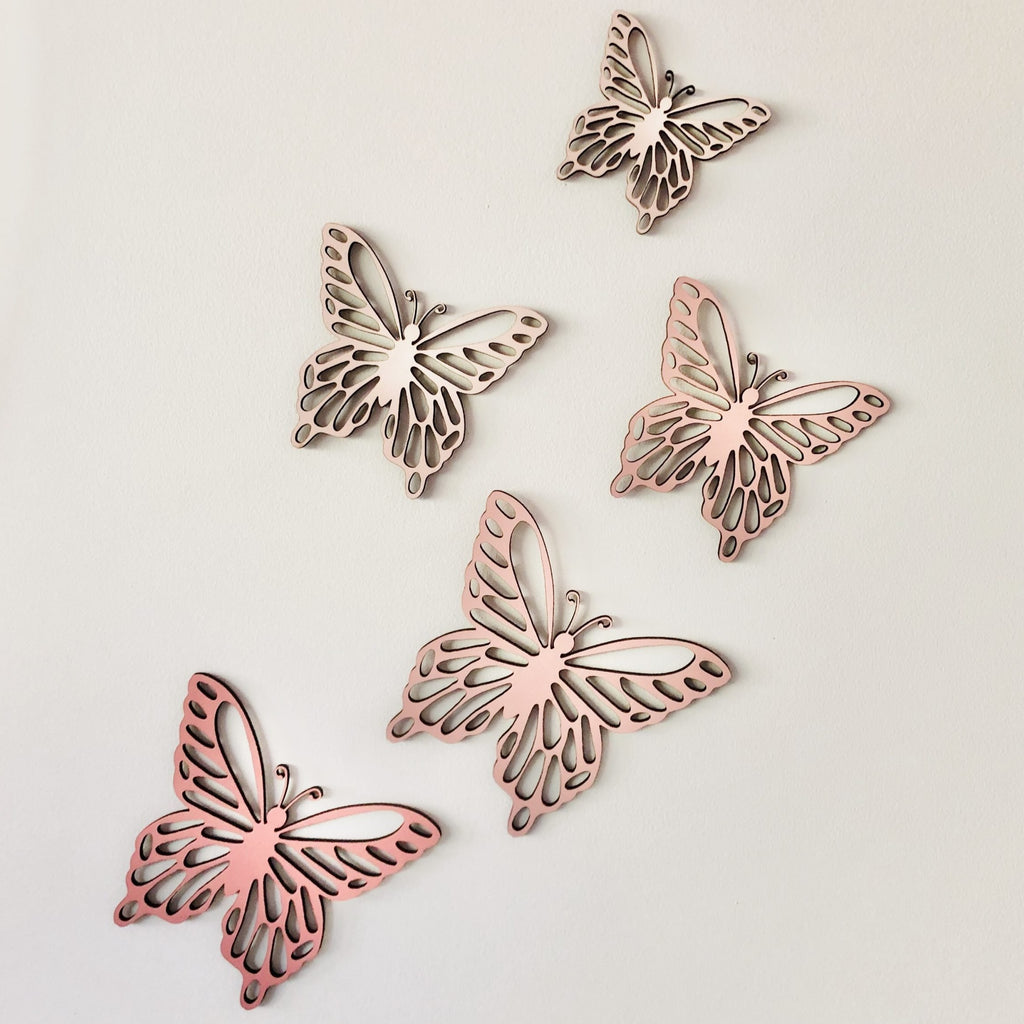 Ombre Butterfly Decals