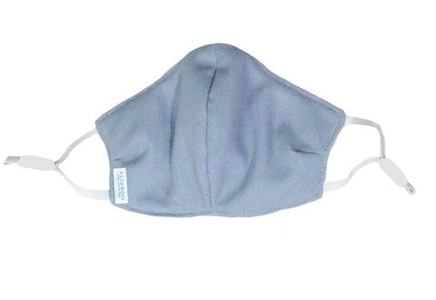 Alimrose Youth Face Mask - Blue Grey Linen