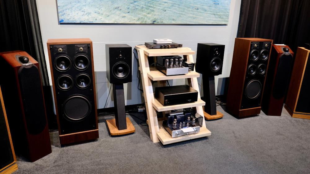 A wide range of stereo speakers.