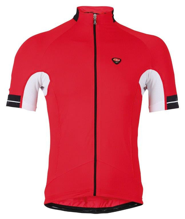 Cycling Short Sleeve Jersey Oxigeno Red