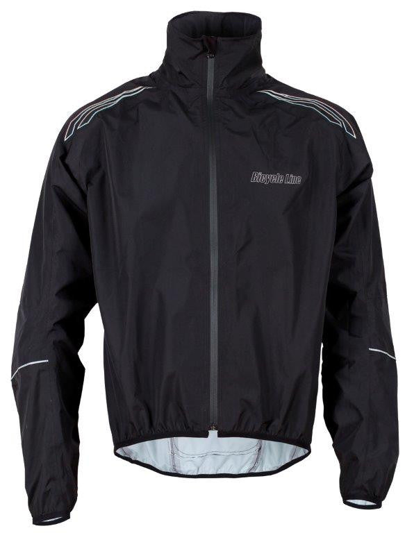 Cycling Rain Jacket Tempesta Black
