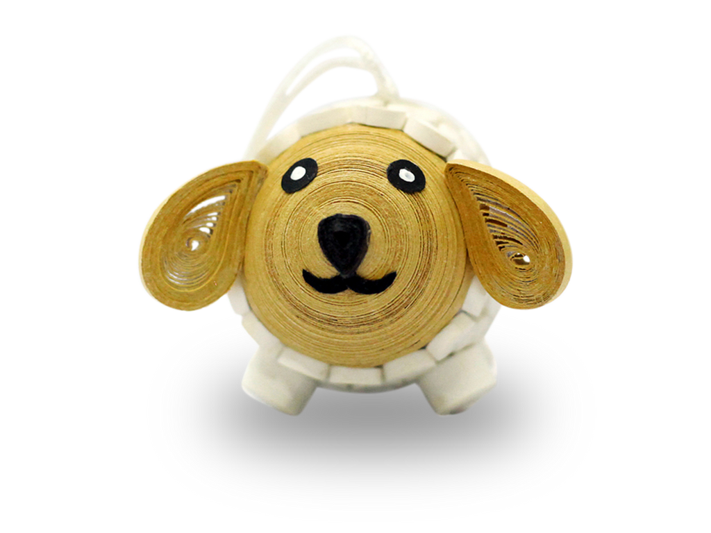 Paper Quilling Sheep ornament