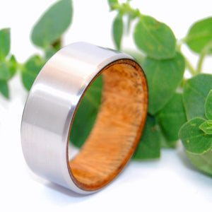 Unearthed: Ancient Kauri Wood Titanium Rings