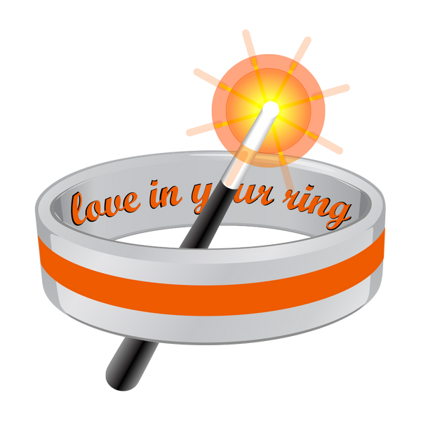 """Love In Your Ring"" Wizard Makes Customizing Your Titanium Ring Online Easy!"