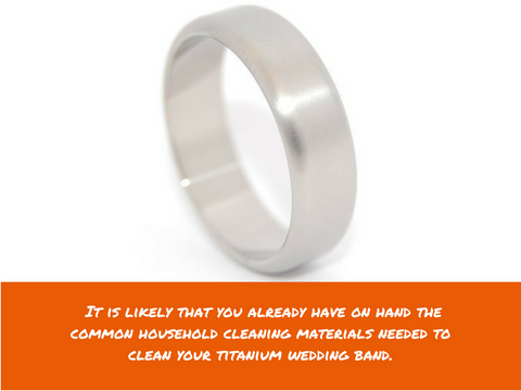 a9917f1f5a7db1 How To Clean Wedding Rings - Titanium. titanium wedding band care