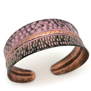 HALF CIRCLES COPPER | Copper Patina Bracelet - Minter and Richter Designs