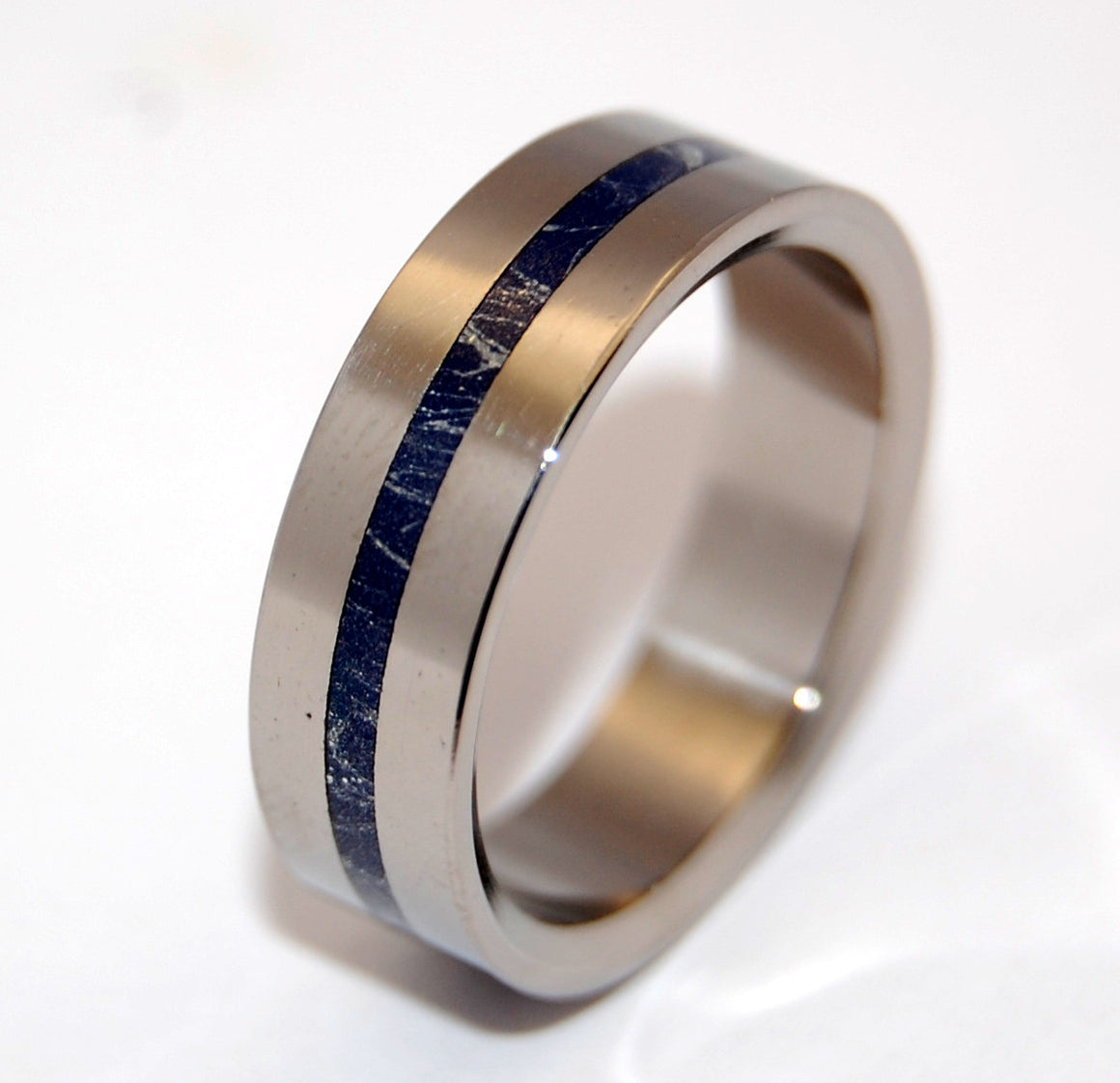 A LITTLE OF YOU | M3 & Titanium Wedding Ring - Minter and Richter Designs