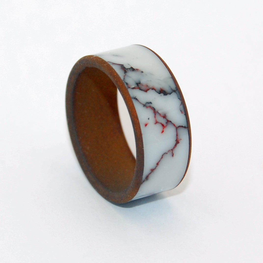 Men's Wedding Ring - Unique Rings | ACROSS THE WILD HORSE PLAINS