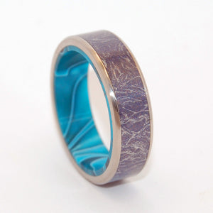 AMORTENTIA | M3 & Titanium Wedding Rings - Minter and Richter Designs